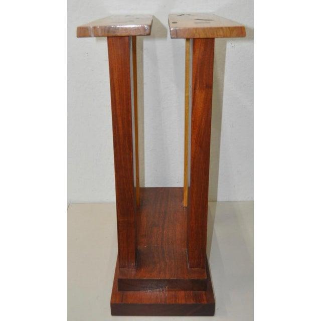 Dia Ates Hardwood Pedestal - Image 7 of 8