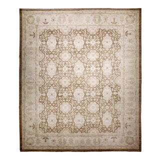 "Hand Knotted Afghan Luxury Rug - 8'1"" X 9'11"""