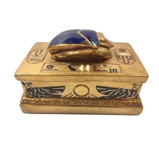 Vintage Egyptian Jewelry Box