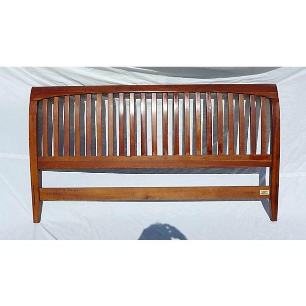 Ethan Allen Cherry King Size Headboard Chairish