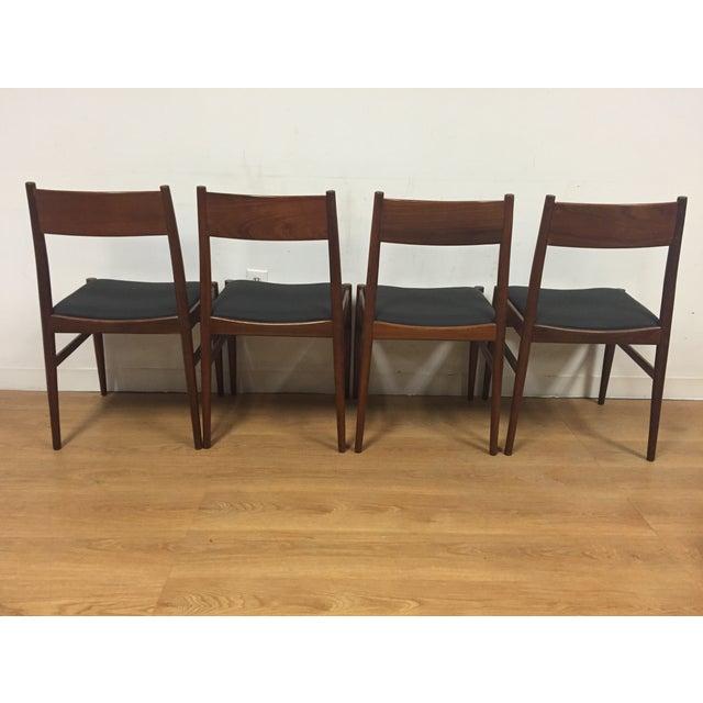 Italian Mahogany Dining Chairs - Set of 4 - Image 6 of 11