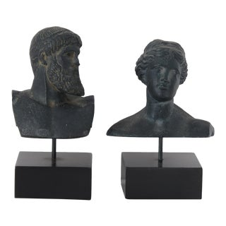 Grecian Figures - Pair