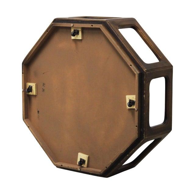 Used Lane Coffee Table: Lane Walnut Octagonal Coffee Table
