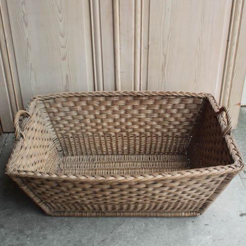 Vintage French Laundry Day Basket - Image 2 of 7