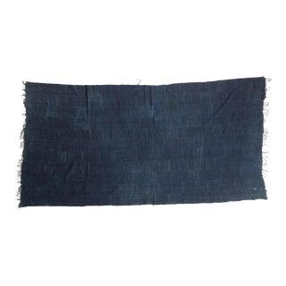 Denim Mossi Indigo African Textile Throw