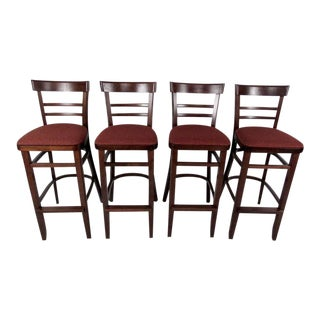 Contemporary Modern Upholstered Stools - Set of 4