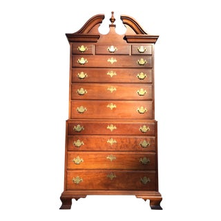 Pennsylvania House Solid Cherry Highboy Dresser