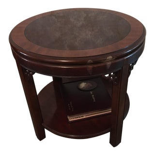 Chipendale Mahogany End Table