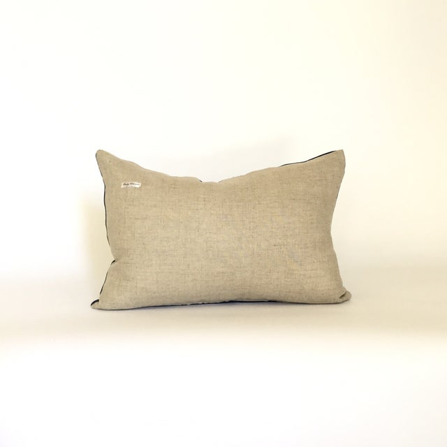 Vintage African Indigo Pillow - Image 4 of 4