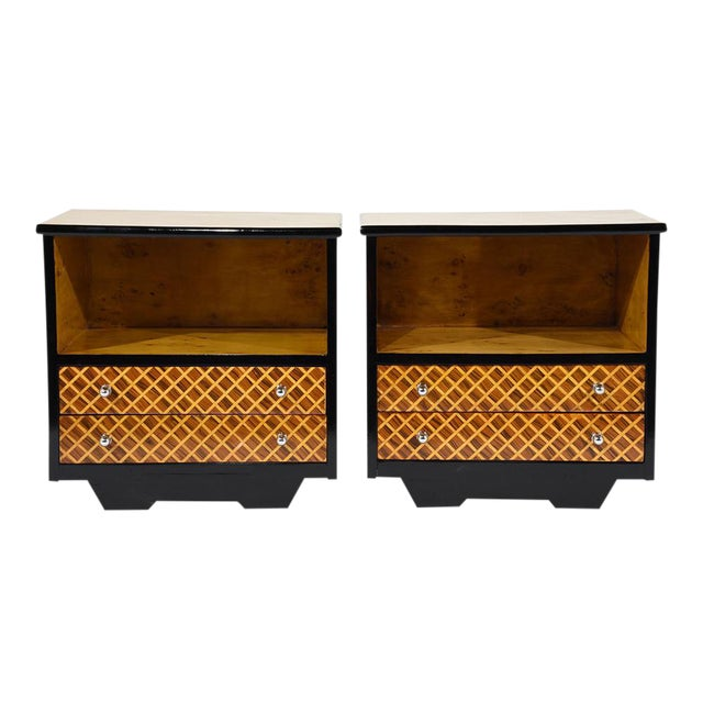 Pair of Mid-Century Modern Nightstands or Side Tables - Image 1 of 10