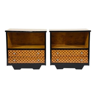 Pair of Mid-Century Modern Nightstands or Side Tables