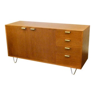 George Nelson Modern Low Profile Credenza Sideboard For Herman Miller