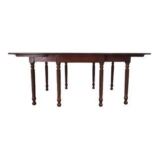 Vintage Willett Cherry Dining Table