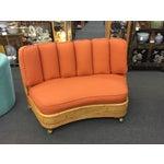 Image of Paul Frankl Vintage Rattan Sofa