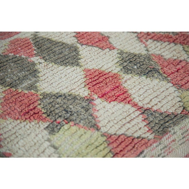 """Vintage Moroccan Square Rug - 5'8"""" x 5'9"""" - Image 3 of 5"""