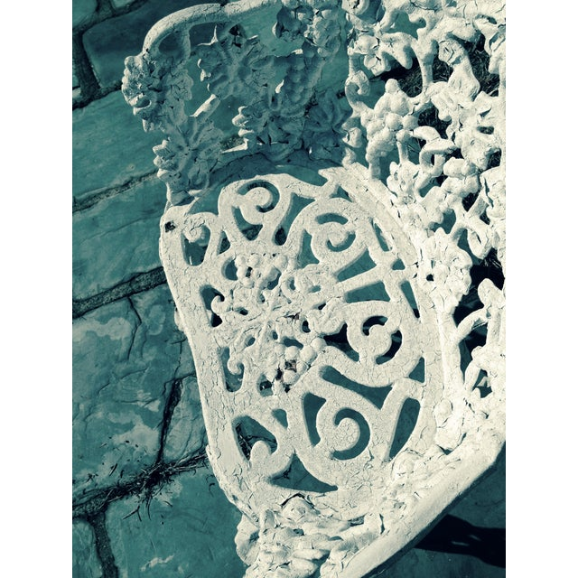 Antique Cast Iron Garden Bench - Image 9 of 11