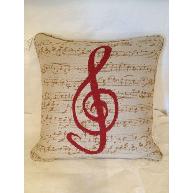 Custom Music Clef Pillow - Image 2 of 5