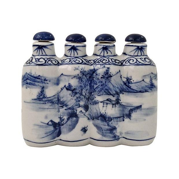 Image of Hong Yun Tang Four-Head Snuff Bottle