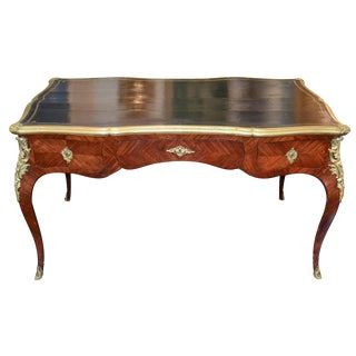 French Louis XV Kingwood Bureau Plat