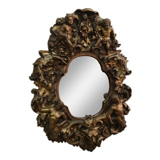 Baroque Cherub Mirror
