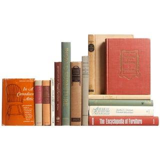 Antique Furniture Books - Set of 14
