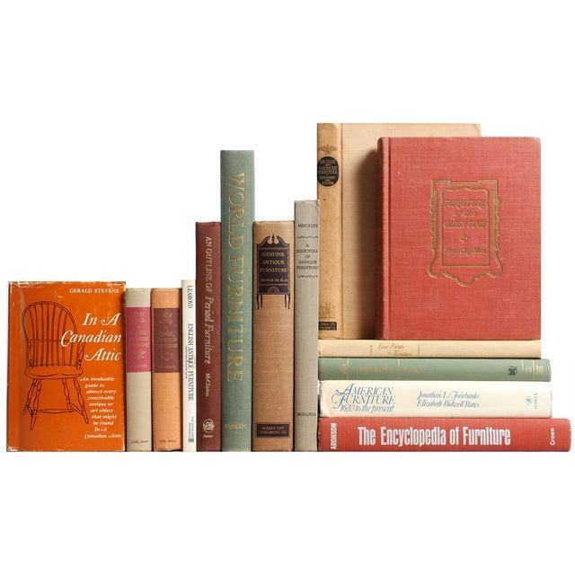 Image of Antique Furniture Books - Set of 14