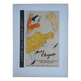 Chagall Mid 20th C. Modern Lithograph