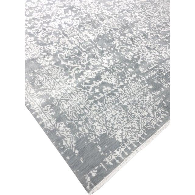 "Image of Pasargad Transitiona Vsilk & Wool Rug- 9' x 12'4"""