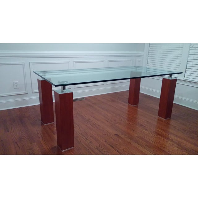 Modern Glass Dining Table From Bova - Image 8 of 8