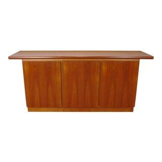 1970s Danish Modern Rasmus Furniture Teak Dining Rood Sideboard Credenza