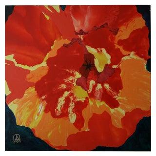 """Hoppin' Poppy"" Original Oil on Canvas"