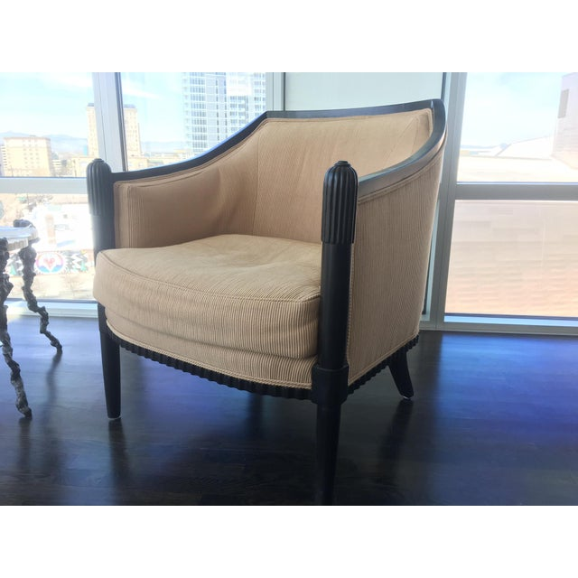 Art Deco Style Lounge Chairs - A Pair - Image 9 of 11