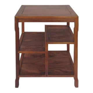 Chinese Solid Hua Li Rosewood Display Stand