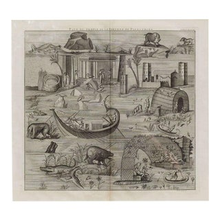 Plate of the Temple of Fortuna Primigenia