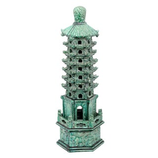 Chinese Pottery Pagoda – Tower