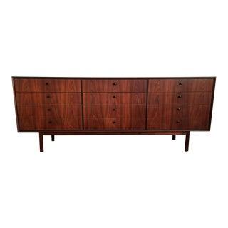 Milo Baughman for Arch Gordon Mid-Century Modern Walnut Lowboy Dresser