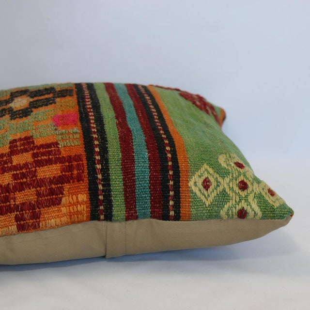 "Kilim Pillow Case 16"" - Image 4 of 5"