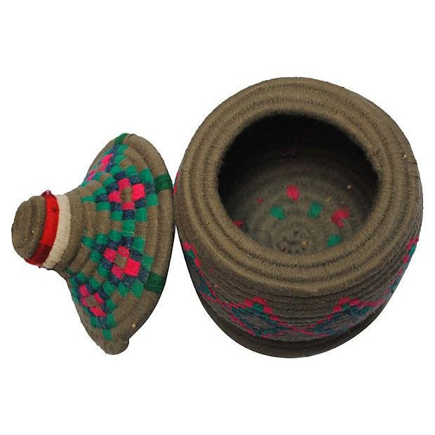 Image of Gray Moroccan Bread Basket