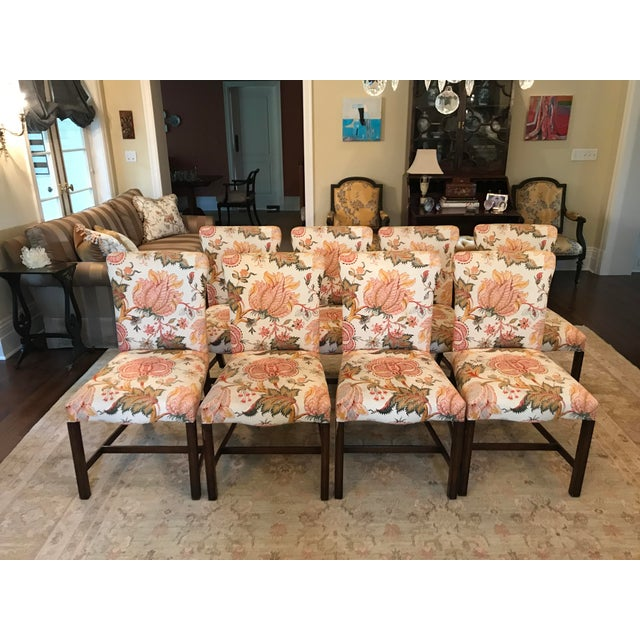 Upholstered Dining Chairs - Set of 8 - Image 11 of 11