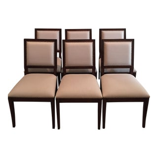 Contemporary Upholstered Dining Chairs - Set of 6