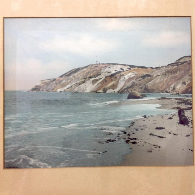 Image of Wallace Nutting Tinted Atlantic Coast Photo 1942
