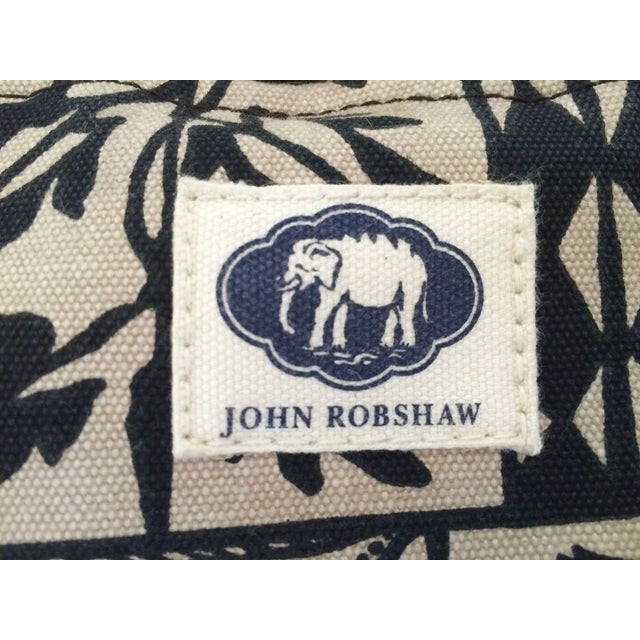 Image of John Robshaw Moroccan Poufs - Pair
