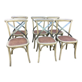 Bistro Dining Chairs - Set of 6