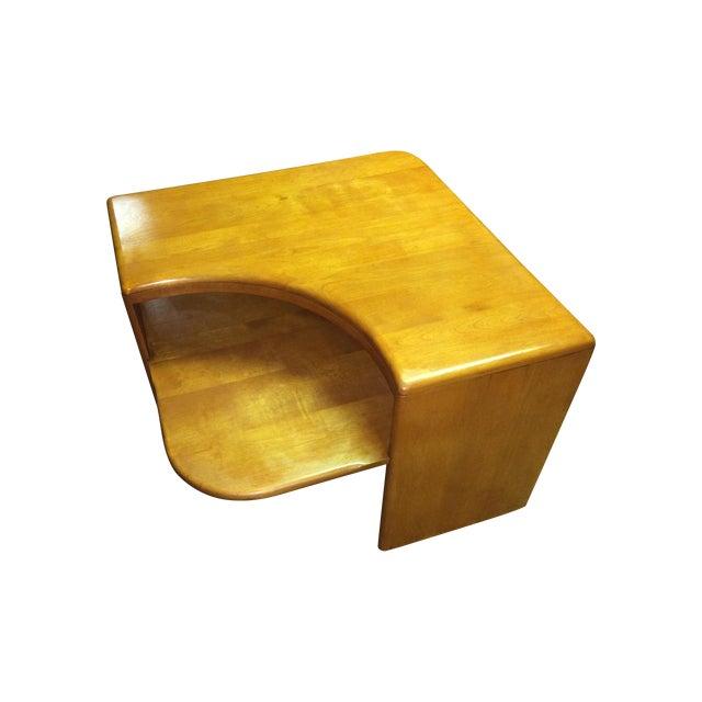 Heywood Wakefield Champagne Corner Table - Image 1 of 8