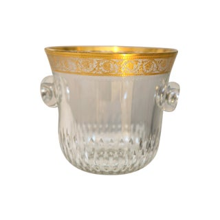 Saint-Louis Thistle Crystal Ice Bucket