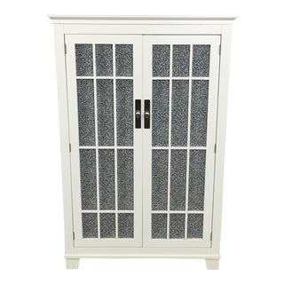 Crate & Barrel Traditional French Door Cabinet