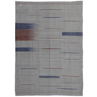 """Hand Knotted Modern Kilim by Aara Rugs Inc. - 9'8"""" X 6'10"""""""