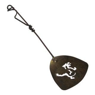Hammered Brass Dragon Spoon