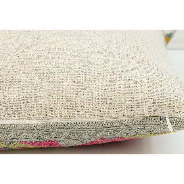 Vintage Lao Textile Custom Pillow - Image 4 of 4