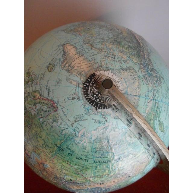 Mid-Century Relief Globe - Image 6 of 8